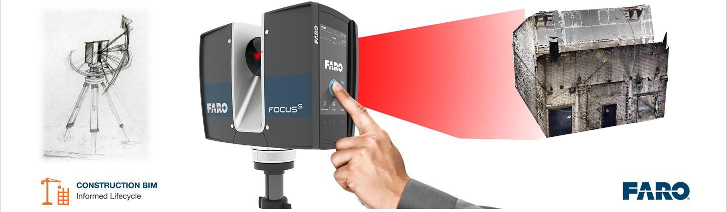 FARO und die ISD Group geben Partnerschaft bekannt. Punktwolken im Nativen Faro Format direkt in HiCAD Importieren