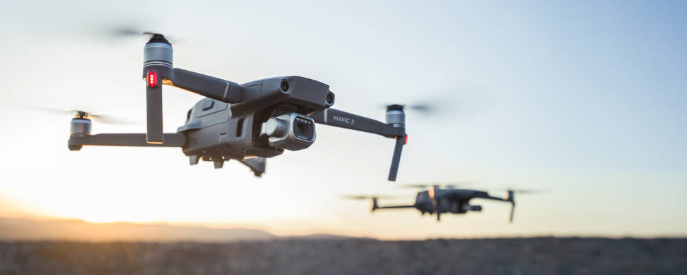 Drohnenvermessung mit dem DJI Mavic 2 Pro