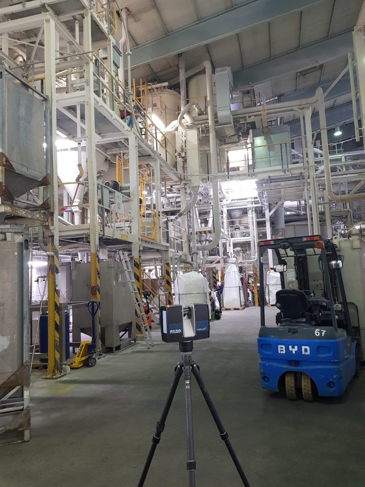 3D-Vermessung im Anlagenbau