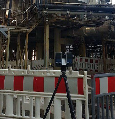 3D-Laserscanning im Stahlbau
