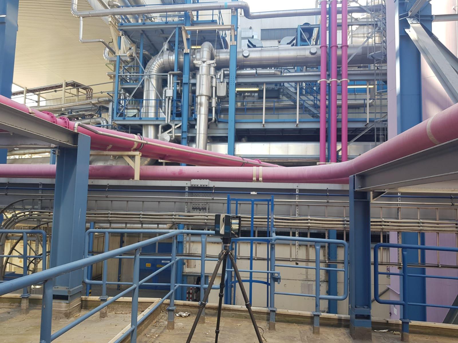 3D-Bestandserfassung im Anlagenstahlbau