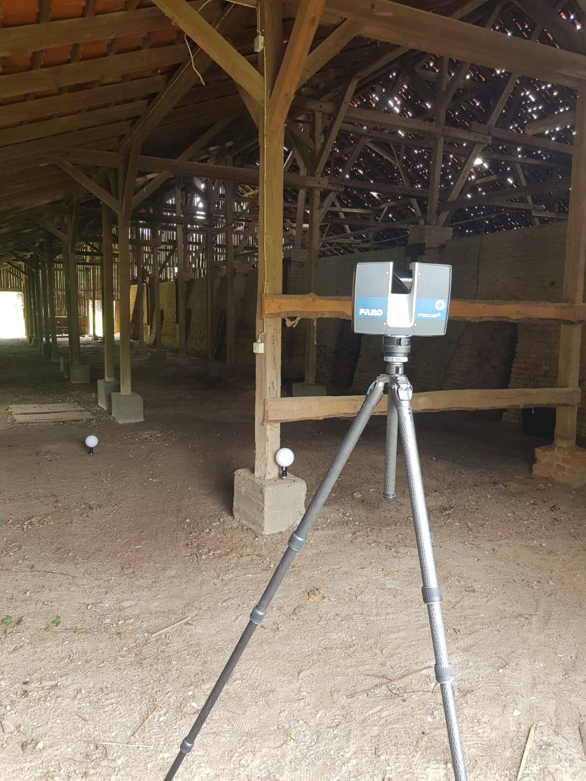 3D-Laserscanning für Architektur und Denkmalschutz